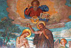 Taufe von Jesus, Gottes Sohn