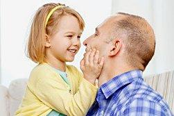 Normale Tochter-Vater-Liebe ohne Doktorspiele